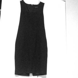 Express Business Zipper Back Dress